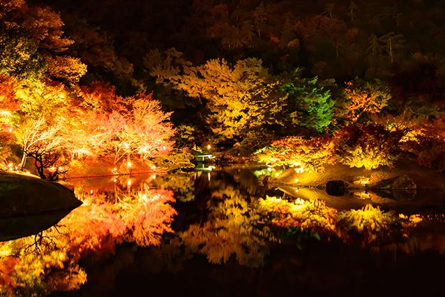 栗林公園の紅葉