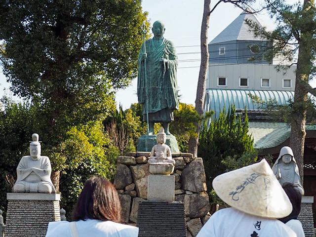 善通寺佐伯家の像